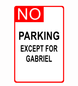 parking signs demo